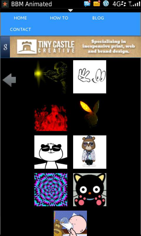 Mas Avatares animados para el #BBM 6.1 via bbm-animated. com ...